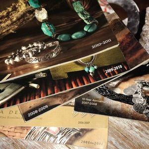 2005-2010 silpada catalogs